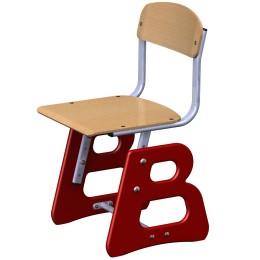 """Ученический стул """"Азбука В"""" фанера"""